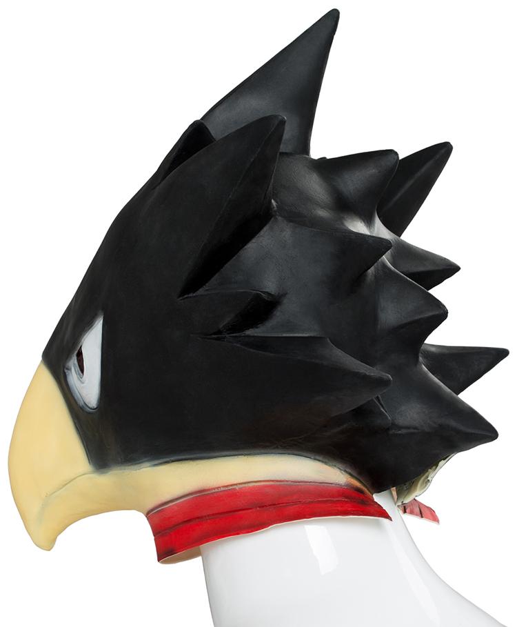 My Boku no Hero Academia Tokoyami Fumikage Cosplay Bird Mask Prop Helmet Costume