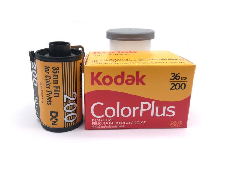 菲林200度银盐胶卷2021年4月到期135负片柯达彩色复古相机传统