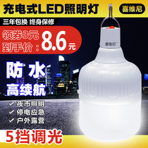 Rechargeable led ultra-bright home mobile night market lights pendulum lighting ground