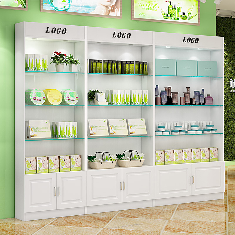 Gl Shelf Display Stand Showcase Free Combination Cabinet European Cosmetics Beauty Products Cabinets With