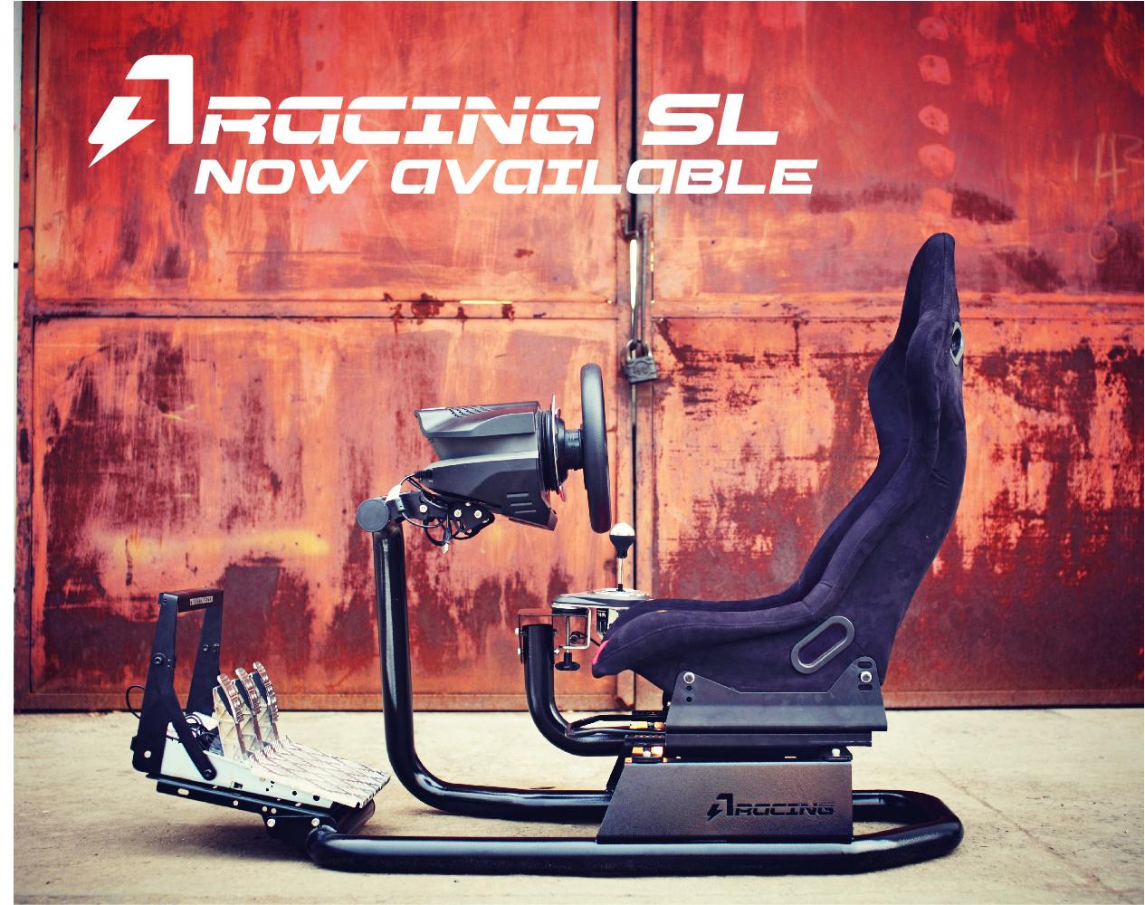 c4e315b0fc9 ... AZRACING simulation racing steering wheel bracket seat  T500/TX/T300/CSW/G29 ...
