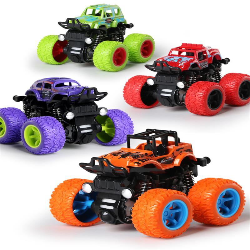 (用10元券)四驱越野车儿童男孩模型车抗耐摔惯性玩具车2-3-4-5岁宝宝小汽车