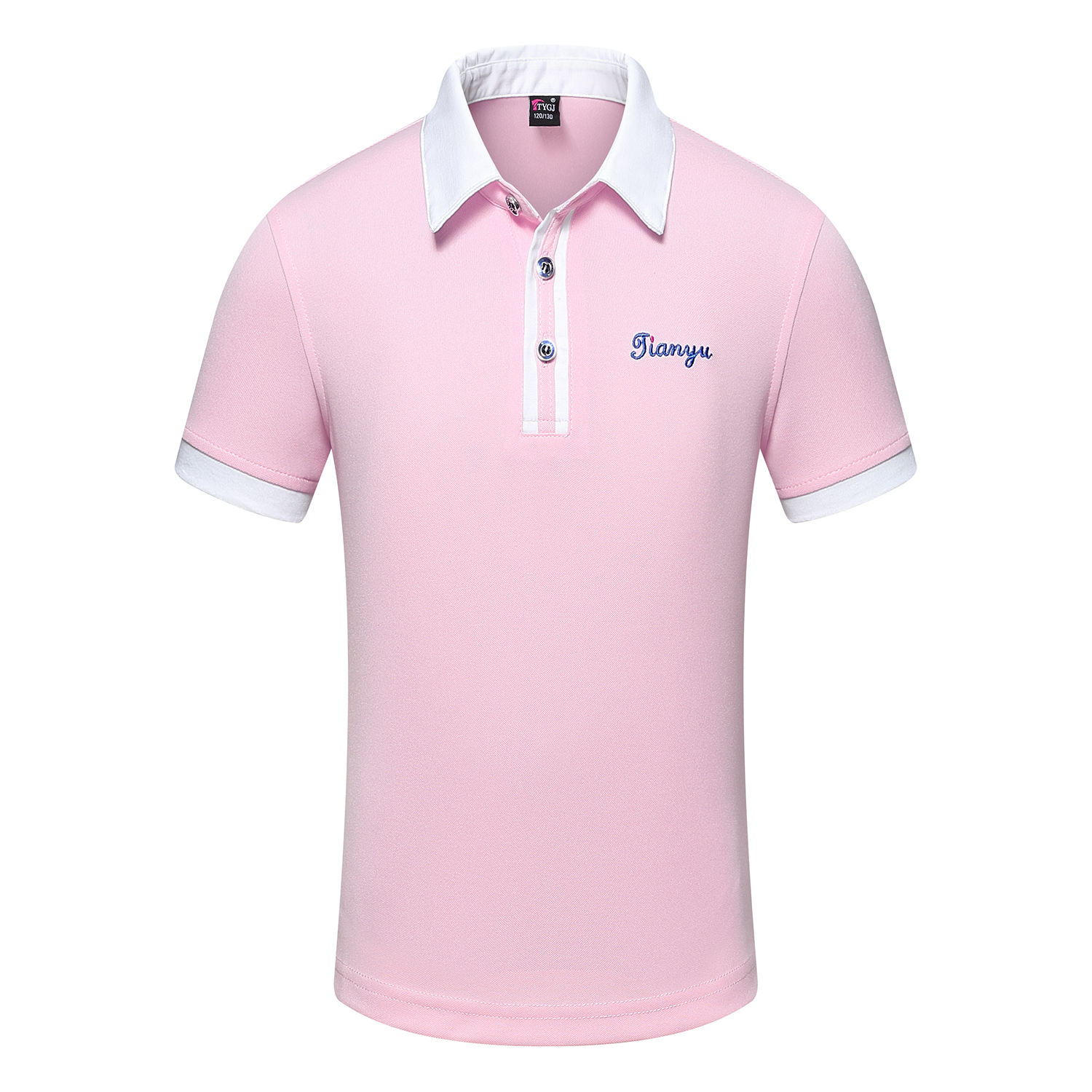 PINK POLO SHIRT FOR MEN AND WOMEN