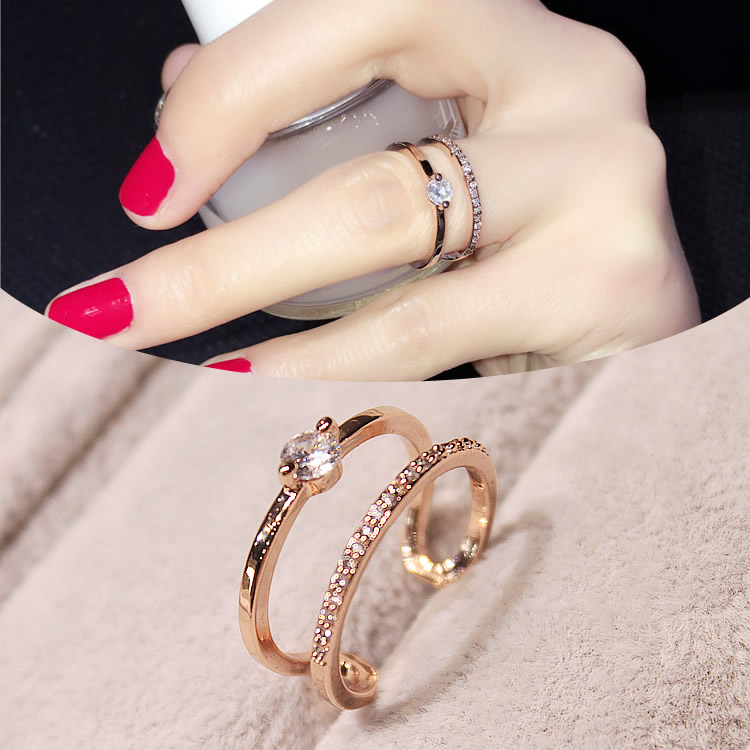 Usd 8 28 Simple Hundred European And American Ring Korean Version