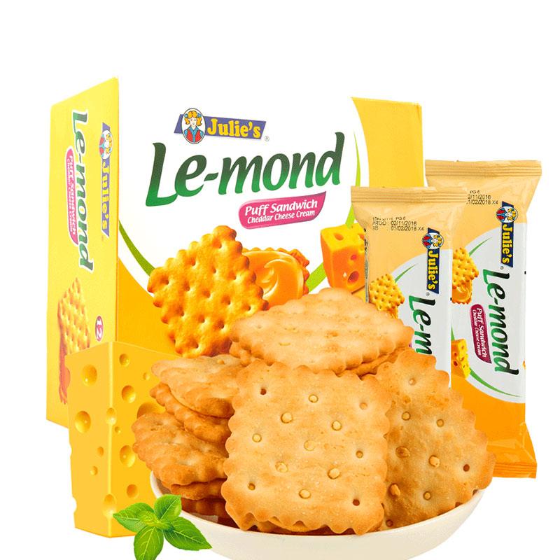 【茱蒂絲】乳酪芝士檸檬夾心餅幹648g