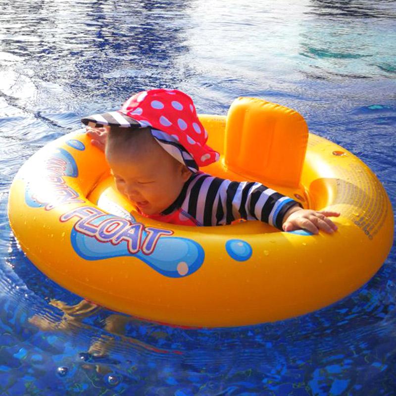 INTEX новорожденный младенец младенец плавать круг ребенок сидения ребенок подмышка кольцо сиденье затенение толстые карты через охрана окружающей среды