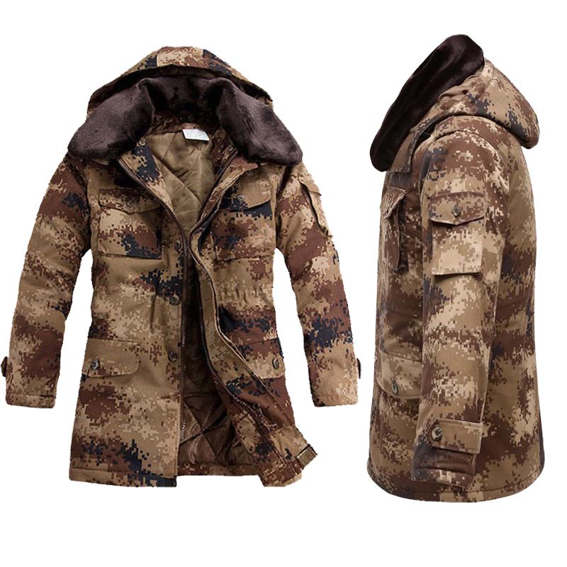 Army coat menu0027s winter thick cotton coat desert camouflage coat cold storage cotton clothing plus fertilizer ...  sc 1 st  eBuy7.com & Army coat menu0027s winter thick cotton coat desert camouflage coat cold ...