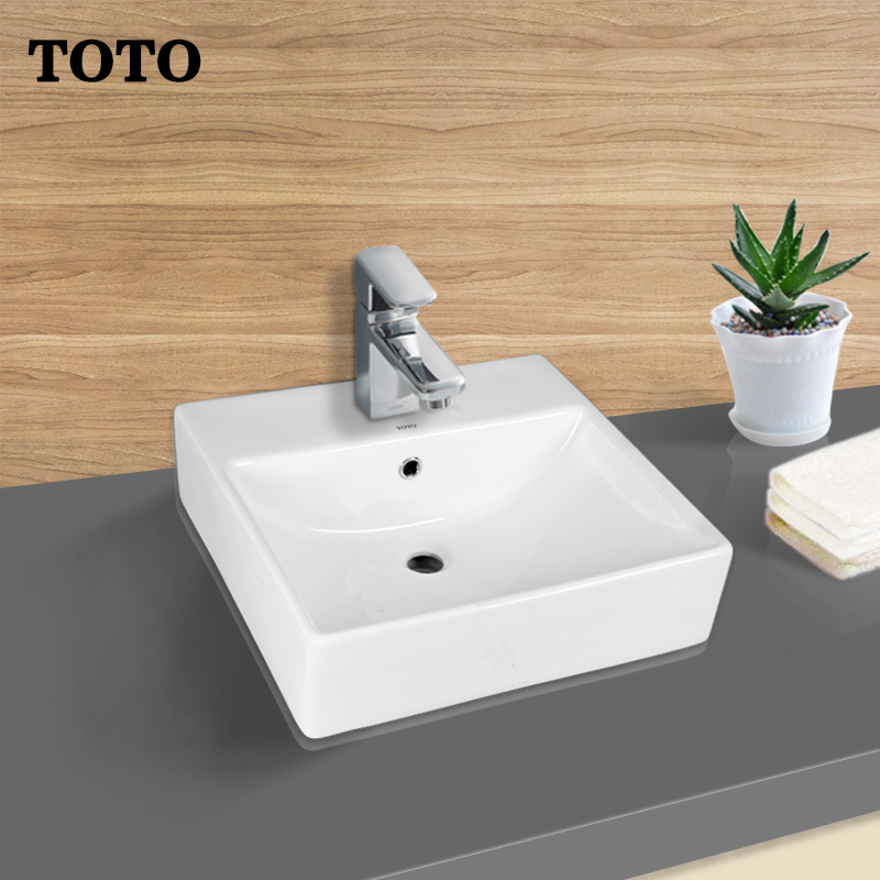 TOTO sanitary ware table wash basin LW709B LW709CB lw709cfb square ...