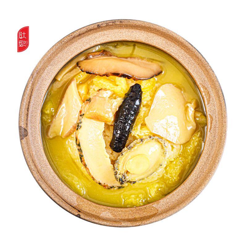 肚娘 佛跳墙即食捞饭海鲜方便速食黄焖汤鲍鱼花胶 尝鲜版220g