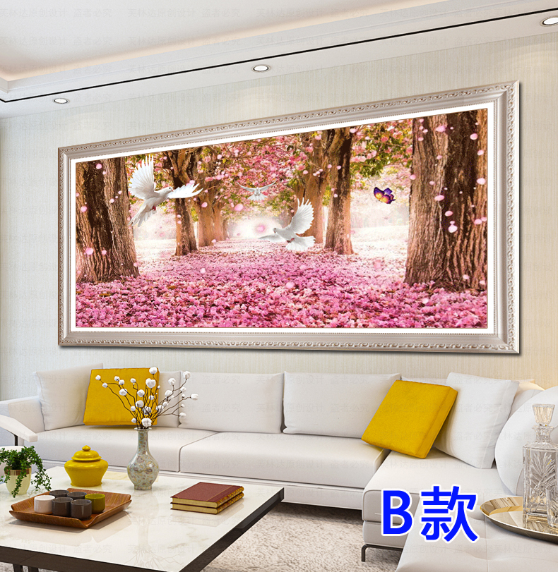 5d Diamond painting full Diamond cherry tree 2018 new wedding ...