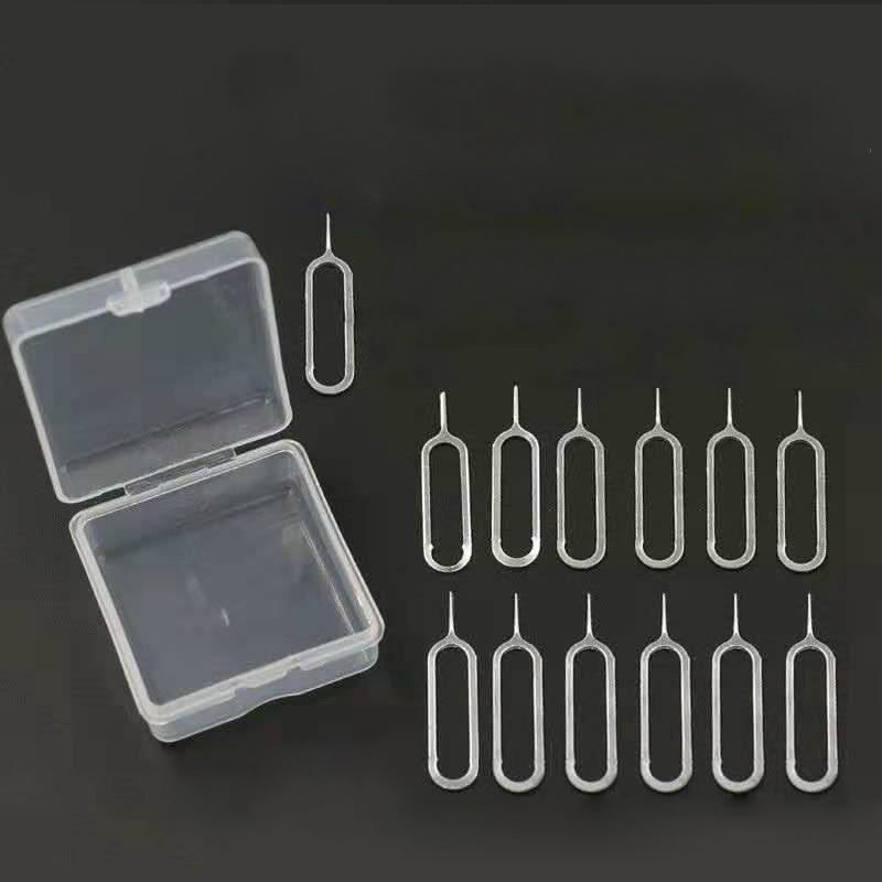 8mm手机取卡针1盒13根适用于苹果vivo小米oppo三星SIM卡顶针iphone开卡针金属顶针器华为便携拆卡器通用