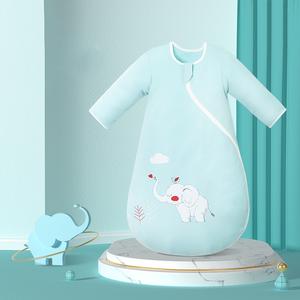 南极人婴儿睡袋四季通用防踢被
