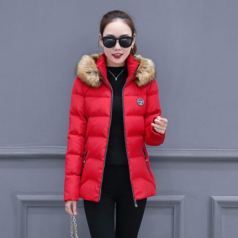 南极人冬新款韩版中长款加厚羽绒服-给呗网