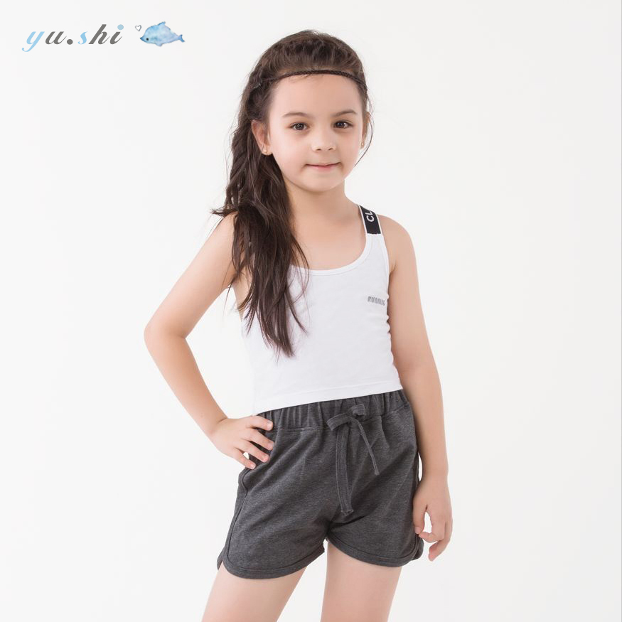 811adc3bde ... Girls underwear vest development period 9-12 years old cotton anti-light  dancing in ...