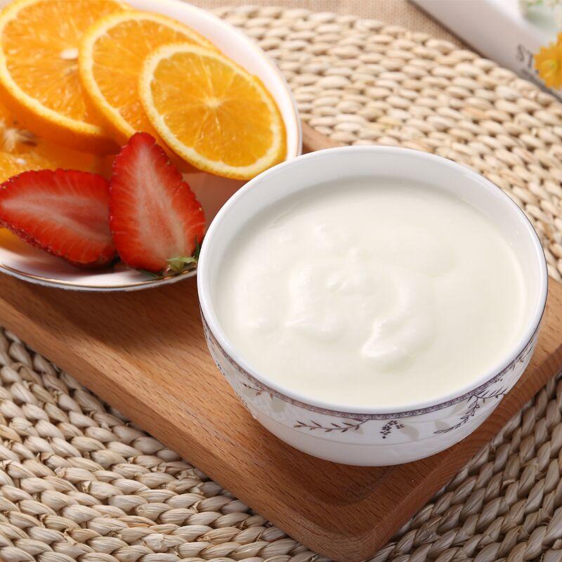 瑞缘无糖酸奶脱脂酸奶新疆无添加剂酸奶低温650g*2【加15元多一罐