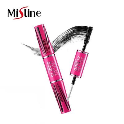 泰国Mistine4D双头睫毛膏女防水纤长浓密卷翘小刷头细不晕染正品