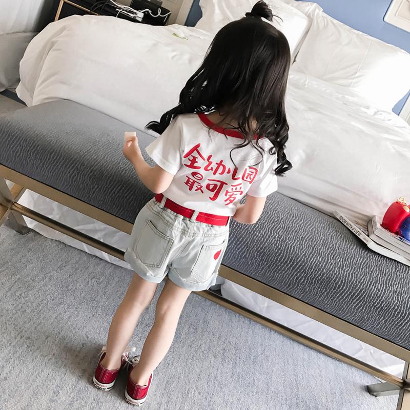 2019新款短袖儿童宝宝T恤婴幼儿夏装夏季纯棉一二三四5岁上衣女童
