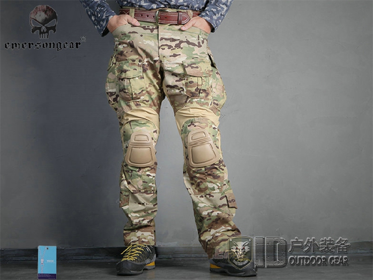 Genuine Emerson G3 field MC camouflage pants outdoor tactical pants male  Special Forces Training Service CP tooling trousers