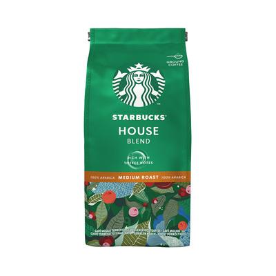 星巴克咖啡粉200g/进口中度烘焙研磨阿拉比卡咖啡粉/葡萄牙速溶