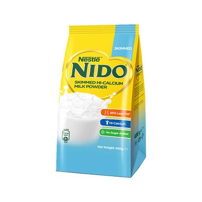 【关晓彤推荐】荷兰进口雀巢nido高钙脱脂营养学生成人奶粉400g袋