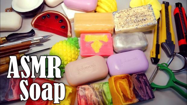 舒舒服服的治愈系剪刮肥皂音