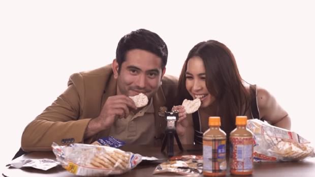 Gerald Anderson和Julia Barretto制作了日本小吃版吃播ASMR视频