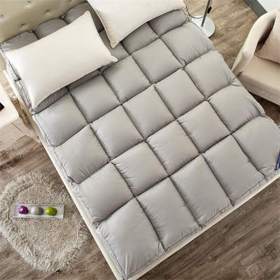 Stereo thick feather velvet mattress breathable Soft four seasons student dormfore mattress bed rush tattle thick pad