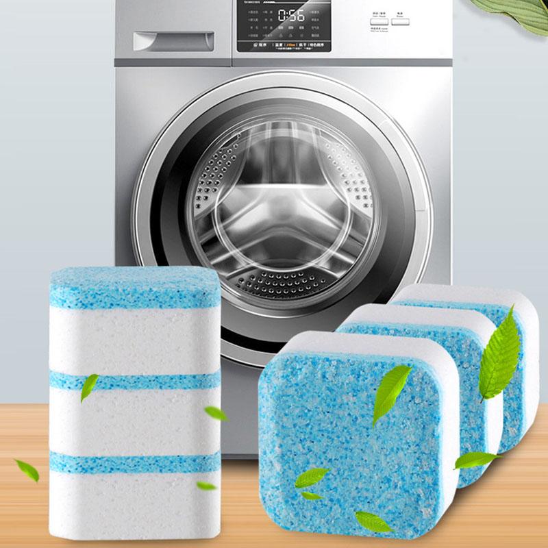 12粒洗衣机槽清洗剂泡腾清洁片全自动滚筒式泡腾片块祛污渍神器