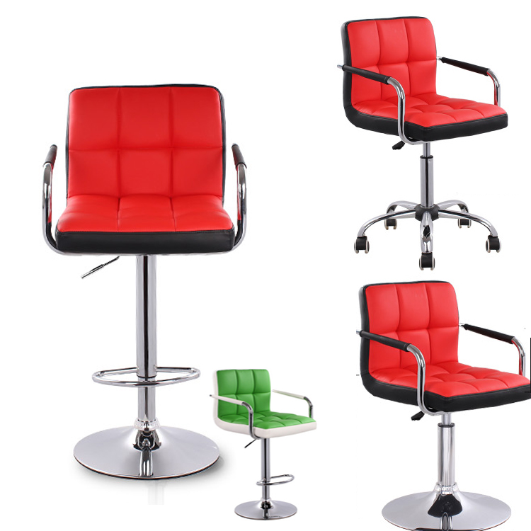 Office Conference Meeting Boss Computer Chair Bar Desk Stool High Foot Lift Mobile