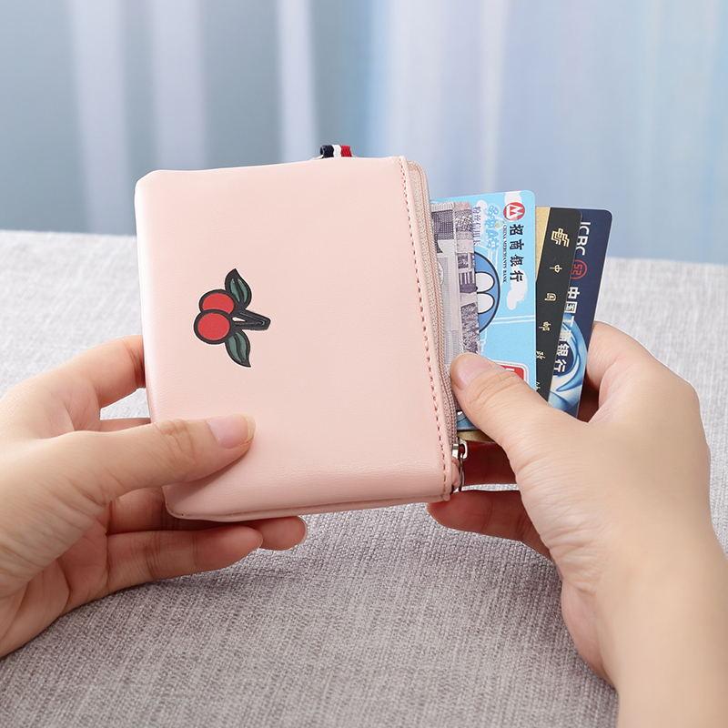 Простое изменение сердца девочки пакет Студенческая литература и искусство милые корейская версия Ins монета пакет Маленькие деньги пакет женщина короткий волна
