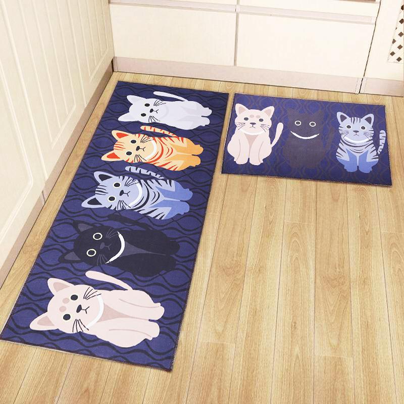 厨房地垫厨房地毯门垫3D地垫家用卧室地垫进门地垫吸水浴室防滑垫