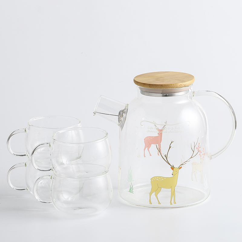 Forest Fawn (Large Kettle) + 4 cups