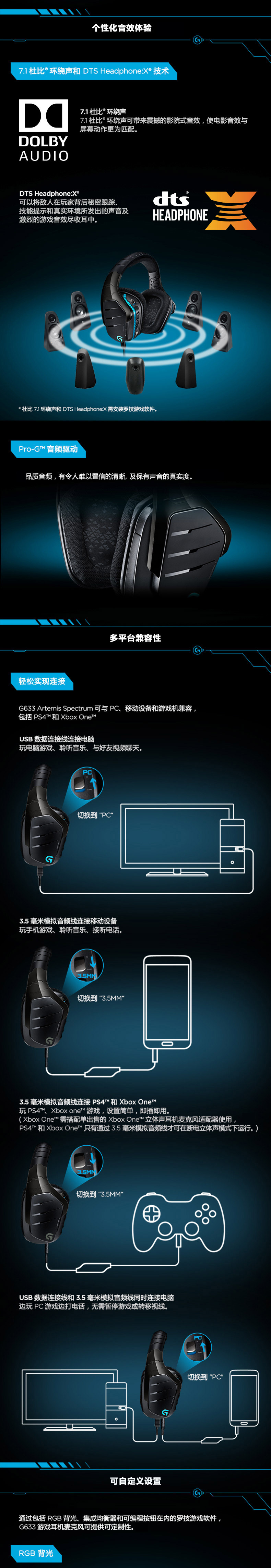 103 78 Logitech Logitech G633 Game Earphone Competition Cable Head Wearing 7 1 Dubil Ear Eating Chicken G633s From Best Taobao Agent Taobao International International Ecommerce Newbecca Com