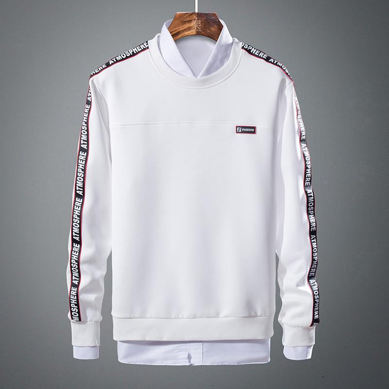 祖玛珑男士T恤长袖潮流春秋款帅气体恤韩版修身学生超火的卫衣