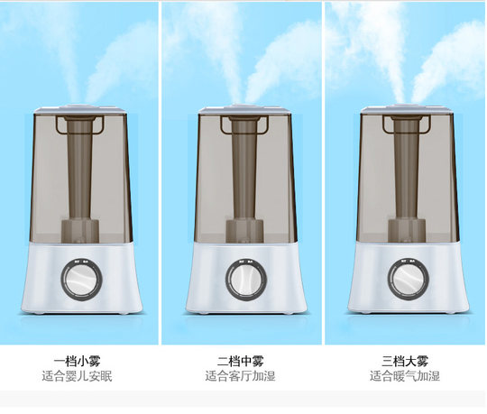 Humidifier Home Silent Bedroom Small Aromatherapy Air Purifier Sprayer Baby Large Capacity Office Desktop