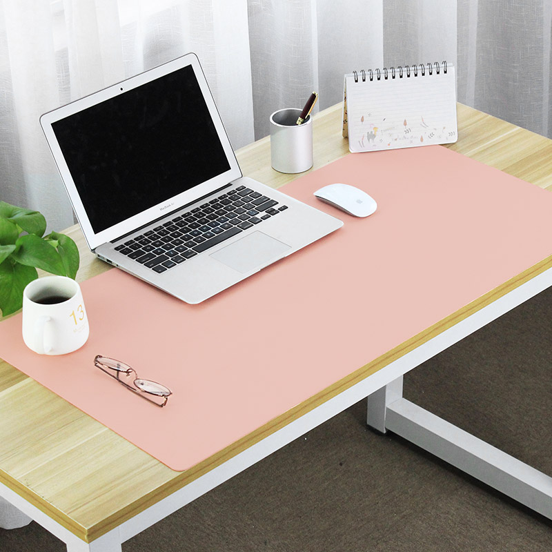 Desk Mat Large Mouse Pad Waterproof Writing Pad Large Leather Mouse Pad  Office Computer Mat Can ...