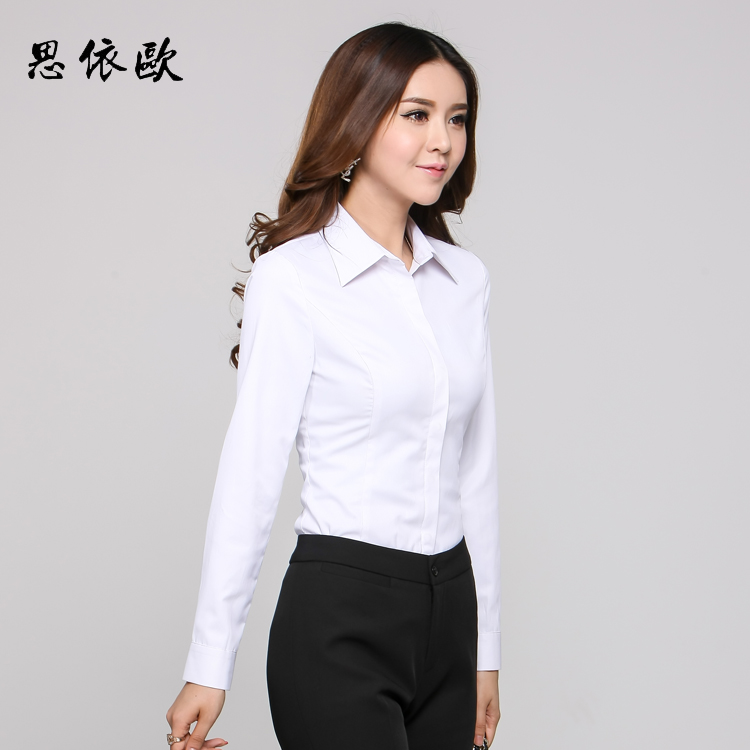 67983a17c9f2 USD 42.25  2017 summer business suit pants female white long-sleeved ...