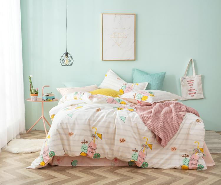 清新格调的卧室布置,让人心情舒畅