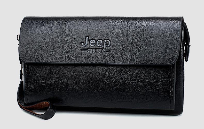 阿南真皮皮包jeep吉普男士錢包密碼鎖長款大容量手包男皮包手拿包男手機男大包