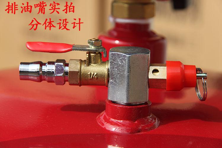 抽油机机油接废油桶气动机油回收收集器汽车换油抽接油机汽保工具详细照片