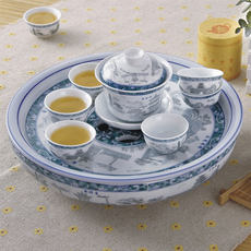 Ceramic Gongfu Tea Set Tea Ceremony Kung Fu Tea Set Tea Tray Tea Set Set Tea Set