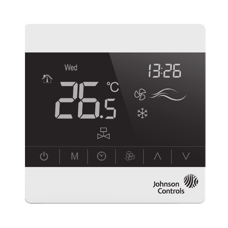 Johnson Controls T8600 Series Thermostat Networked Touch