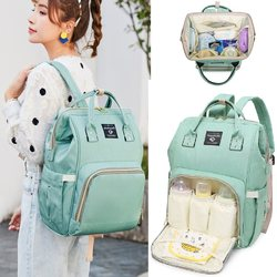 Mummy bag backpack 2020 new Korean mother bag large capacity travel bag Baoma out mom bag shoulder bag