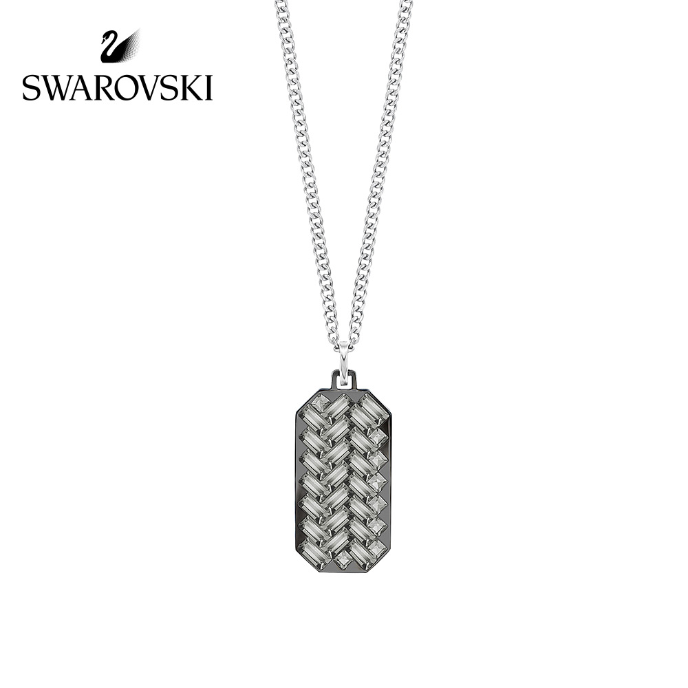 53dcb53fa Swarovski GOVERN men's modern fashion handsome necklace exquisite hundred  with ornaments
