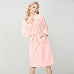 【大嘴猴】加厚冬季珊瑚絨睡衣套裝