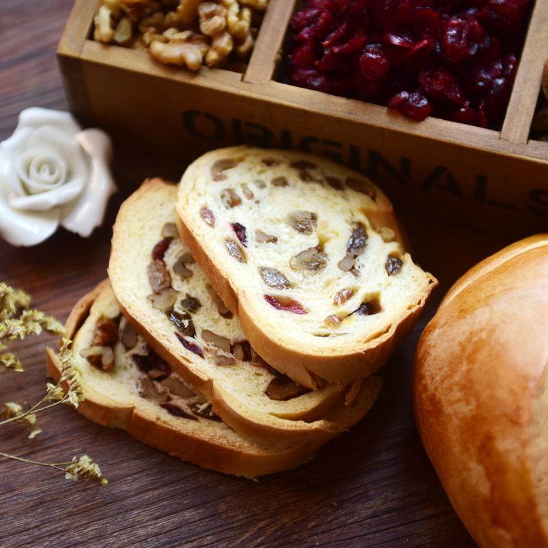 列巴王子俄罗斯大列巴面包新疆坚果全黑麦蔓越莓核桃仁早餐糕点心