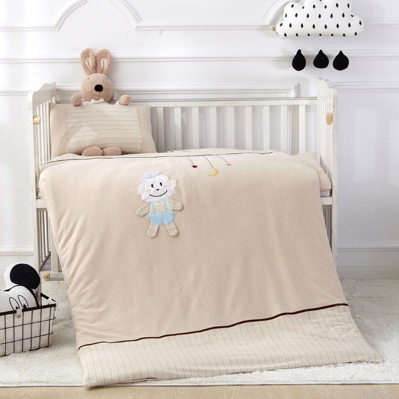 A class color cotton infant Garden Quilt seven sets of children's cotton four seasons autumn and winter nap bedding three sets of core