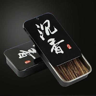 香又多沉香插烟条6A级越南芽庄天然沉香片烟片烟插烟丝抽烟条木条