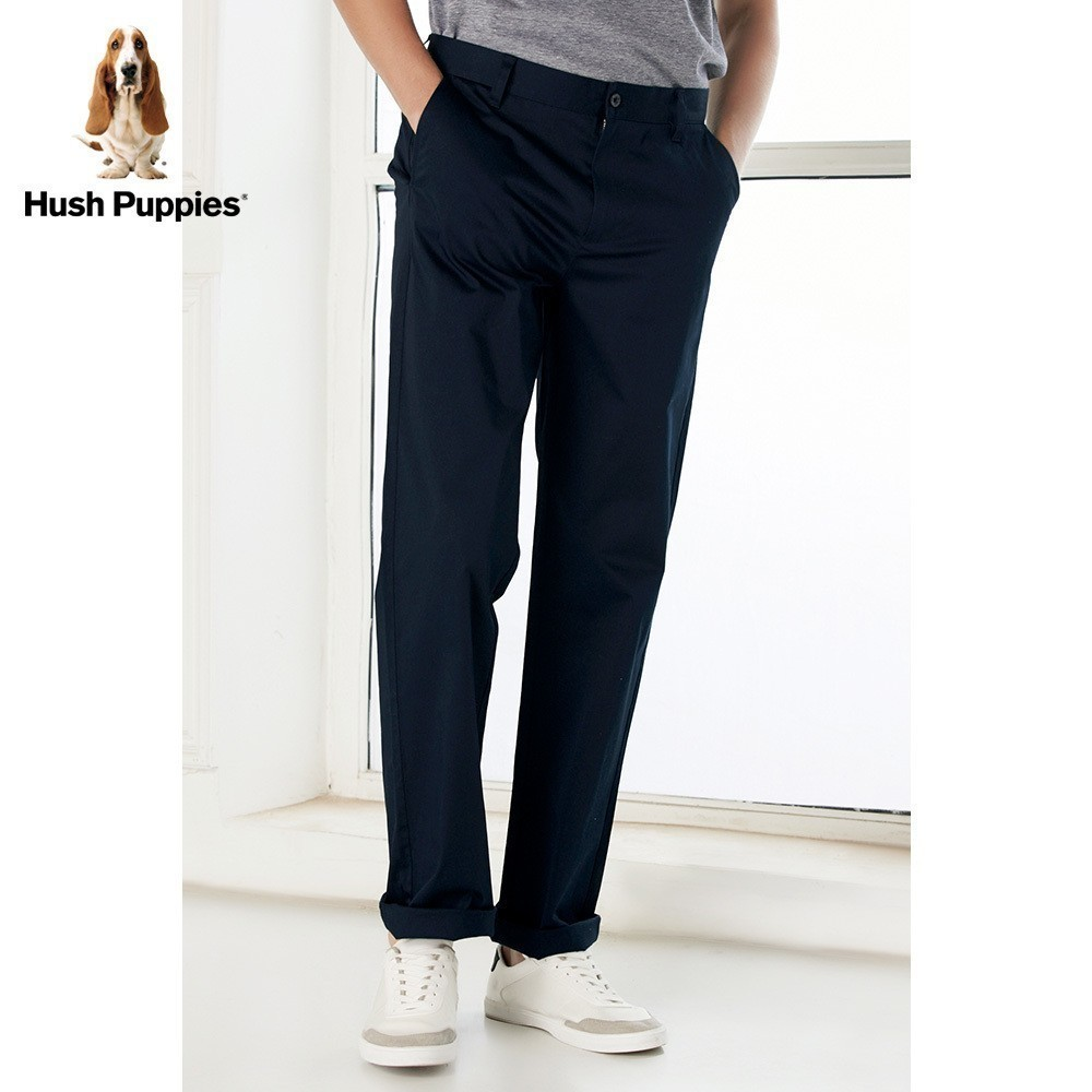 Hush Puppies暇步士男裝2018夏休閑男士長褲|PQ-28302Z