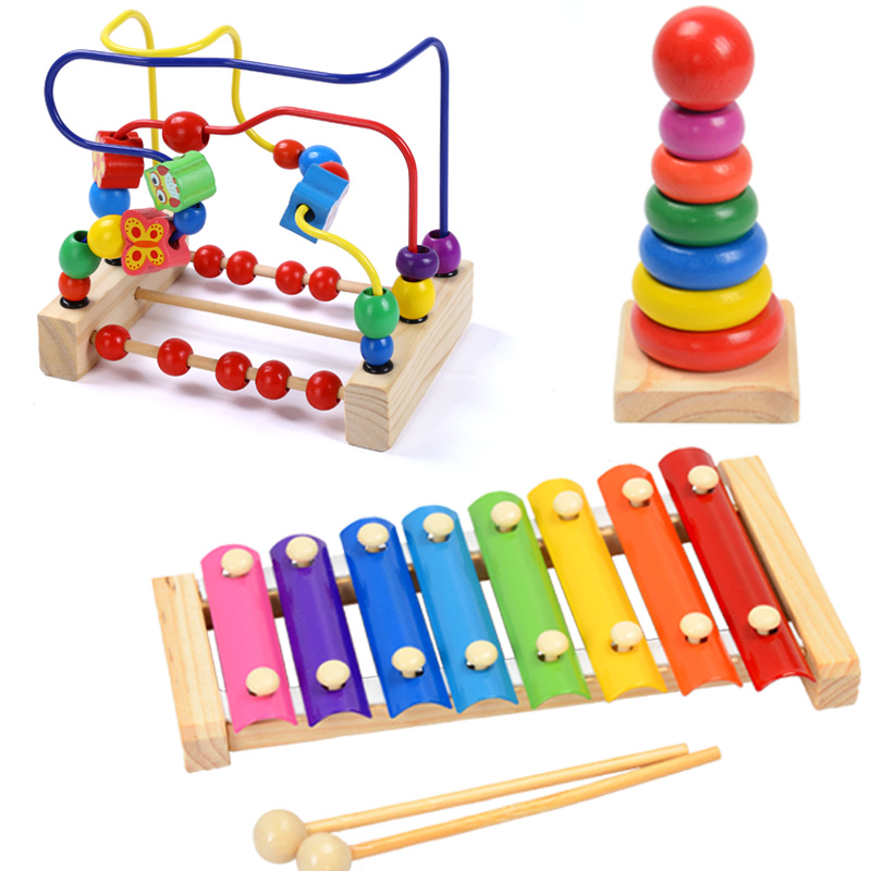 Baby Toys Knock Piano Puzzle Children Hand Knock Piano Baby Music Toys LDUK